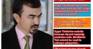 Sürgün Hükümeti Atılanları'nın Uygurları dolandırıp DAEŞ diyerek tutuklattığı, TİP'den uzaklaştırılanlara Beyanat yayınlattığı ortaya çıktı.