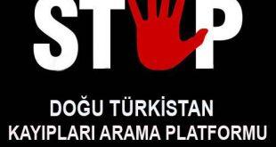 """""""Doğu Türkistan Kayıpları Arama Platformu"""" kuruldu"""