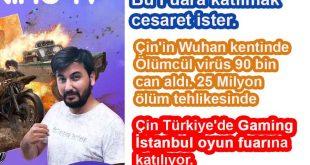 Çin Türkiye'de Gaming İstanbul oyun fuarına katılıyor.