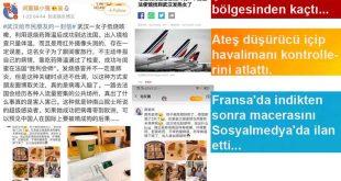 Çin virüsü Fransa'da! Ateş düşürücü içen kadın sosyalmedya hesabından kaçışını anlattı…