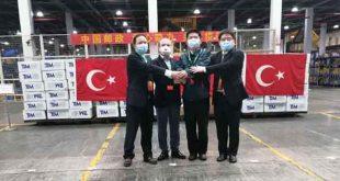 Uygur Türklerine Soykırım Uygulayan Çin'e Türkiye İhracatçılar Meclisi'nden Tıbbi Yardım.