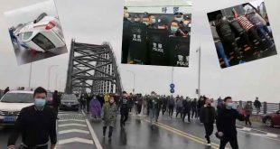 Çin Virüsünün merkezi Wuhan'da halk ayaklanması ve isyan-VİDEO HABER
