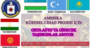 """Seyit Tümtürk, Dünya Uygur Kurultayı ve CIA Projesi """"Doğu Türkistan Özgürlük Hareketi"""""""