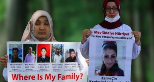 Çin'in Doğu Türkistan'da Uygur Türklerine uyguladığı zulüm protesto edildi