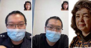 Çin Dünyanın gözü önünde aleyhinde konuşanları tehdit ediyor işte delili
