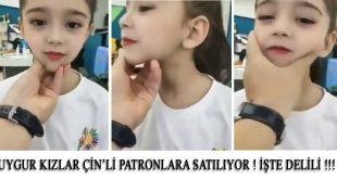 Uygur Kız Çocukları Çin'li Partonlara Satılıyor İşte Delili !!!