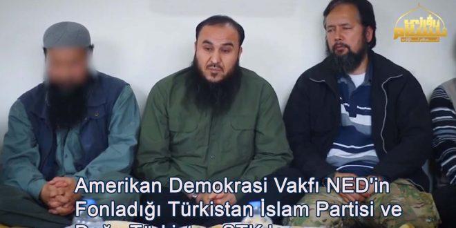 ABD Demokrasi Vakfı NED'in Fonladığı TİP ve Doğu Türkistan STK ları